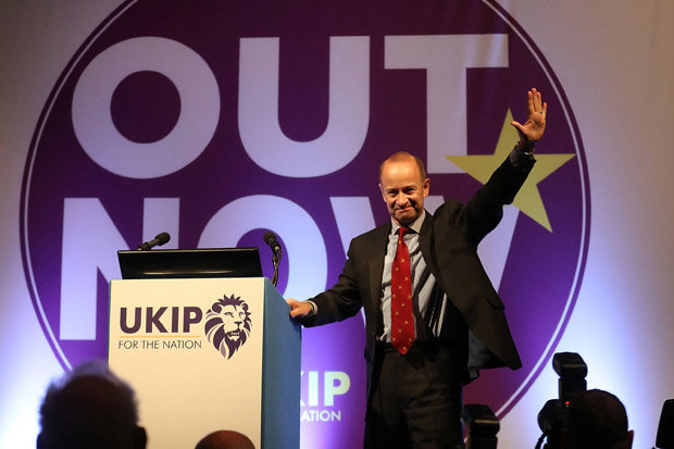 Henry Bolton - UKIP leadership - vote of no confidence