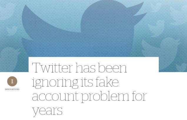 Journalists buying fake Twitter followers - fraud