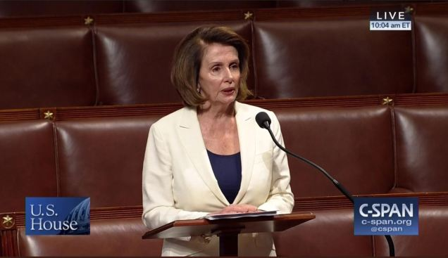 Nancy Pelosi illegal immigration filibuster - DACA - Dreamers - House of Representatives