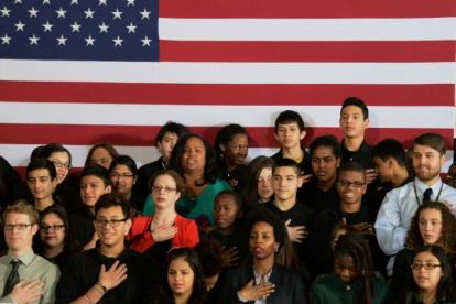 Pledge of Allegiance - Stars and stripes