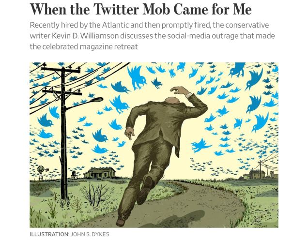 Kevin Williamson - The Atlantic - When the Twitter mob came for me