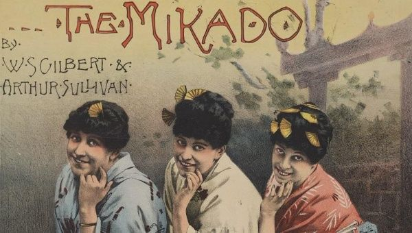 The Mikado poster