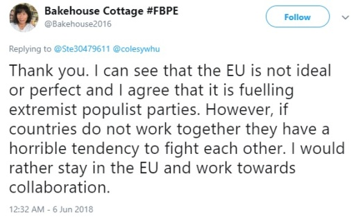 Helen Holdsworth FBPE Brexit 3 - EU collaboration