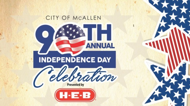 City of McAllen Texas - 90th annual Independence Day celebration - presented by HEB