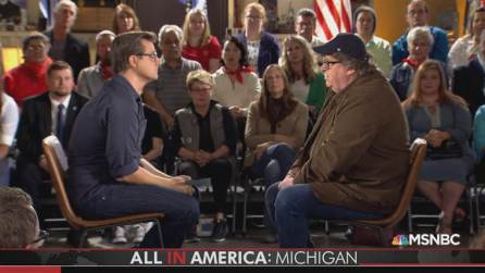 Michael Moore - Chris Hayes - Flint