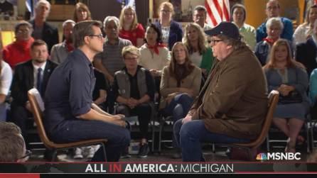 Michael Moore - Chris Hayes - Flint