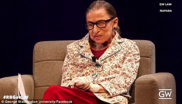 Ruth Bader Ginsburg at GW Law School