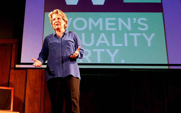 Sandi Toksvig - Womens Equality Party - Gender Pay Gap - QI - Stephen Fry