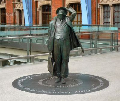 John Betjeman statue