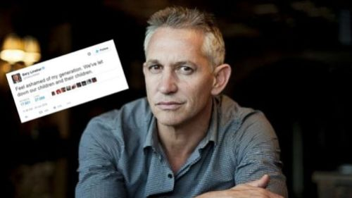 Gary Lineker celebrity Remainer Brexit
