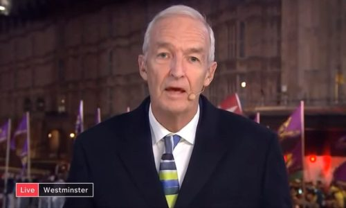 Jon Snow Brexit Protest criticise white people journalism media bias