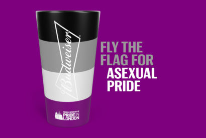 Budweiser asexual pride