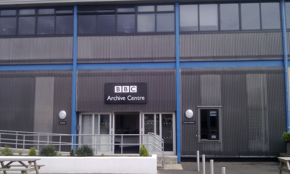 BBC archive centre entrance